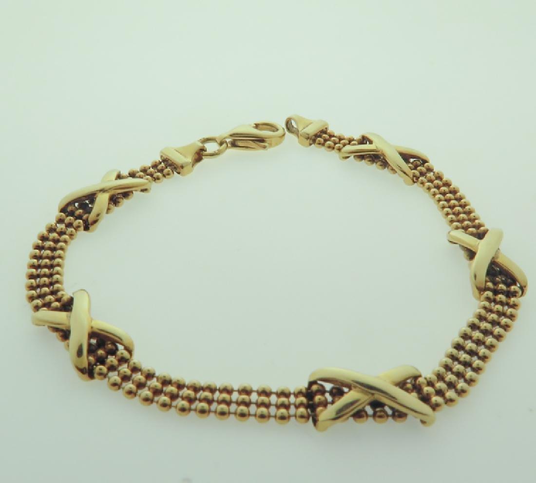 Bracelet 14k custom made