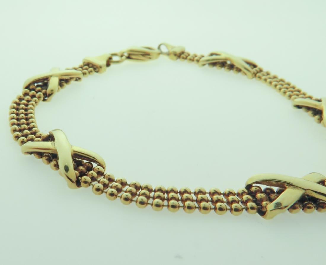 Bracelet 14k custom made - 2