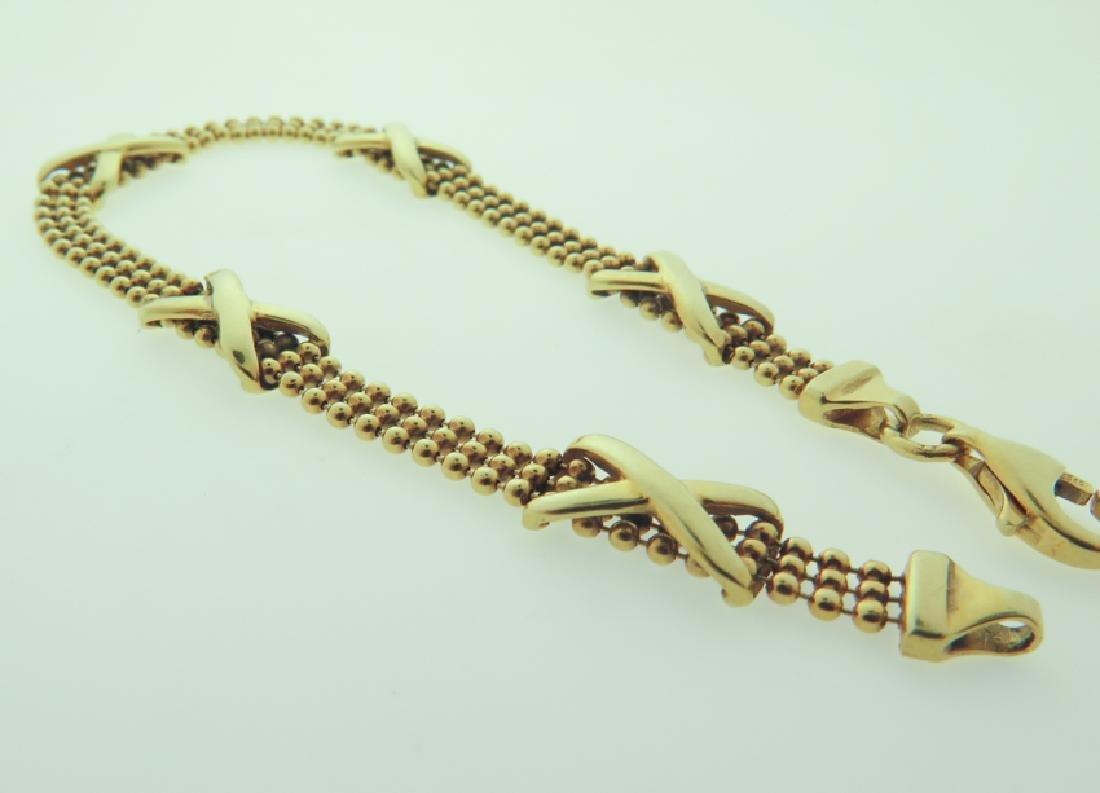 Bracelet 14k custom made - 3