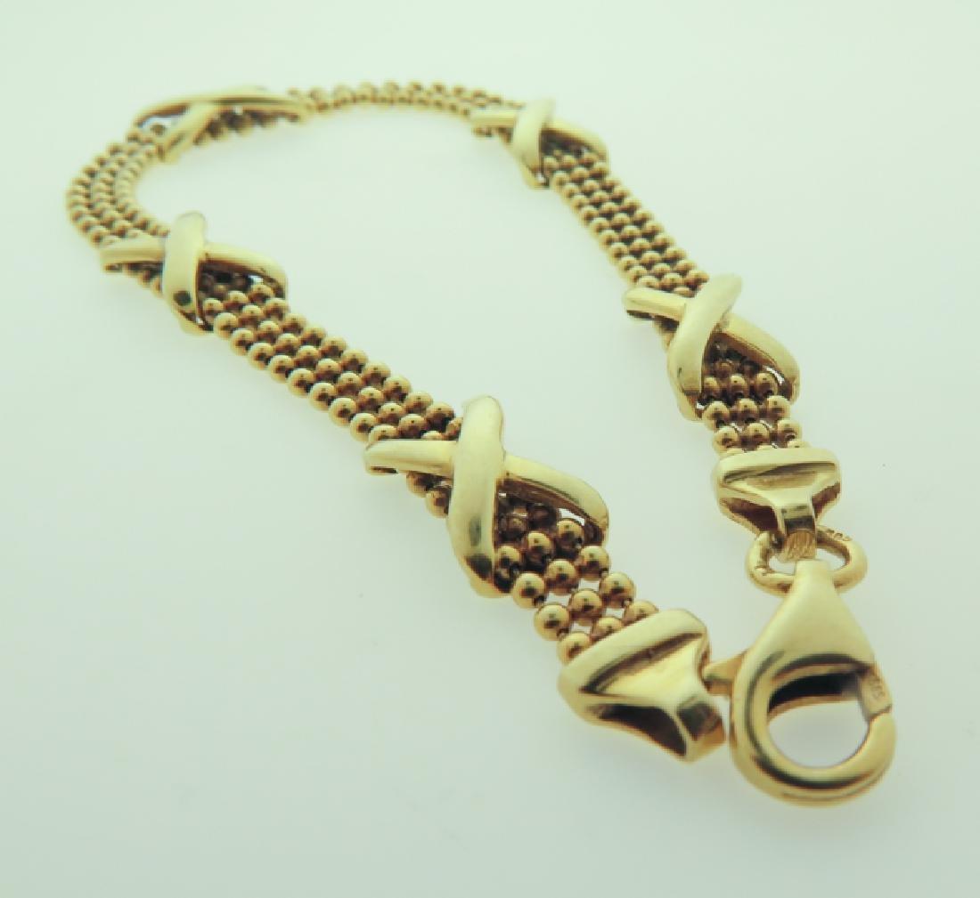 Bracelet 14k custom made - 4