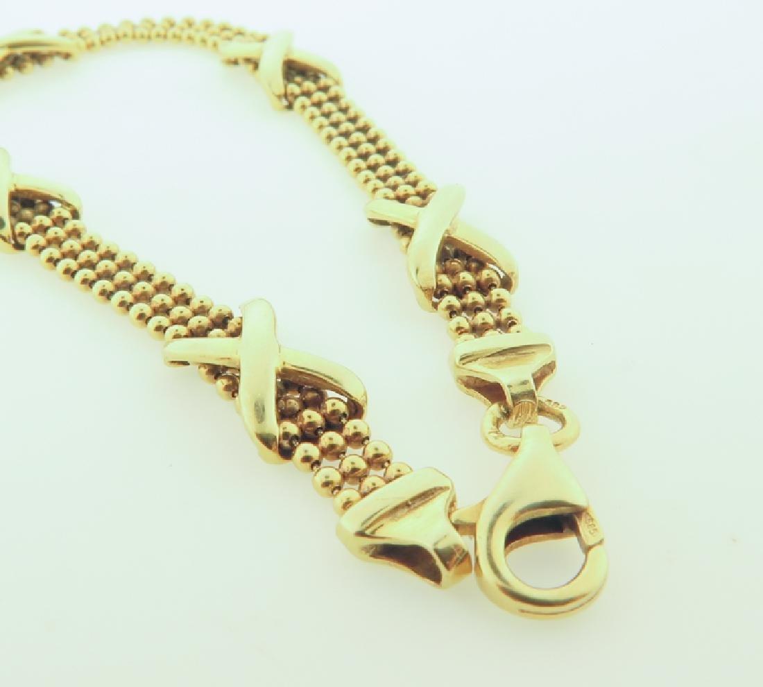 Bracelet 14k custom made - 5