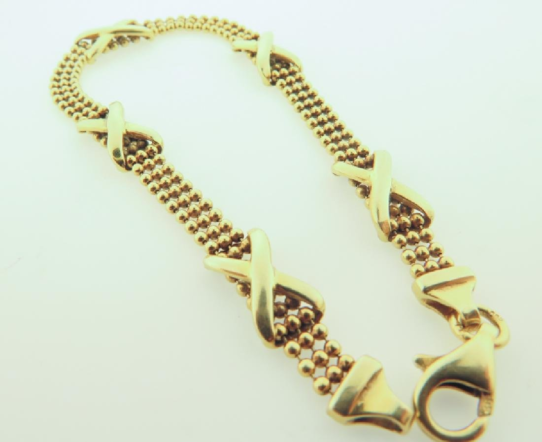 Bracelet 14k custom made - 6