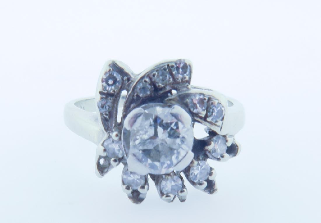diamond 14k ring - 2