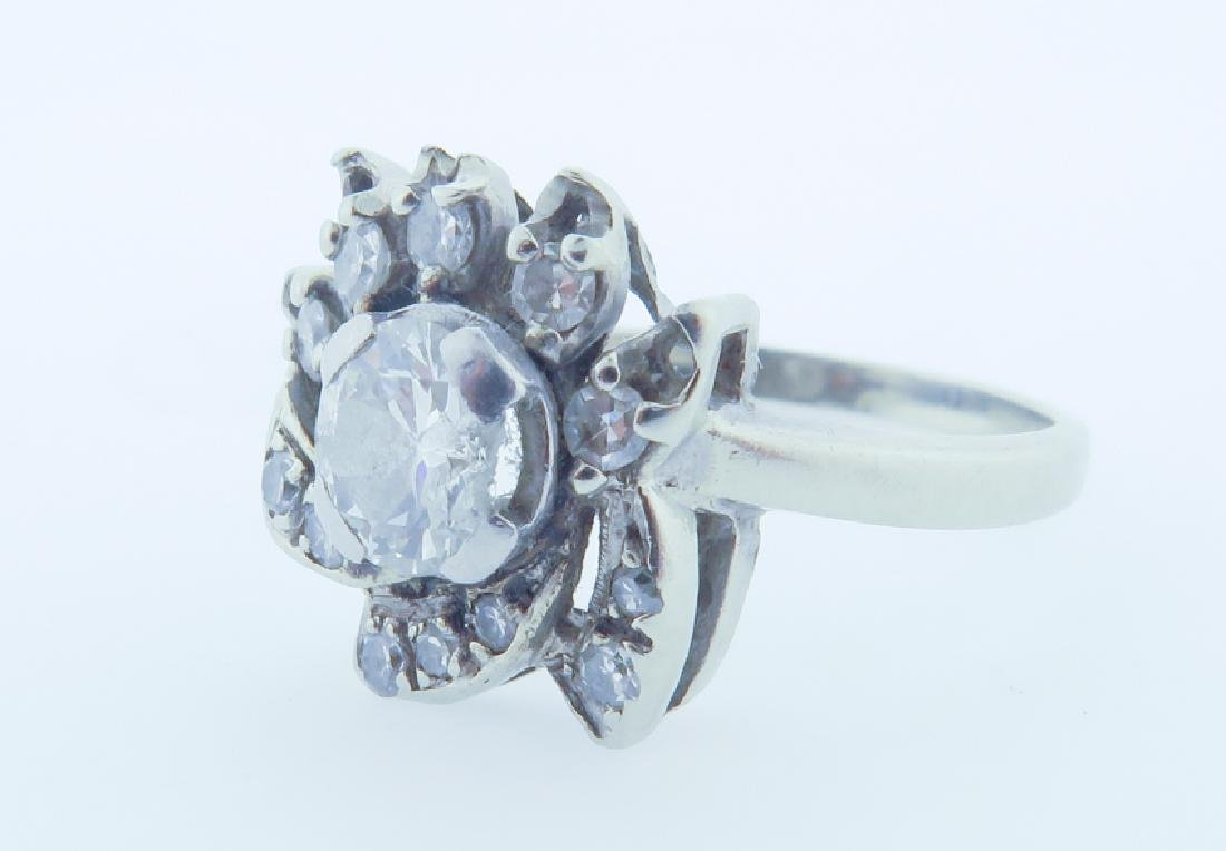 diamond 14k ring - 6
