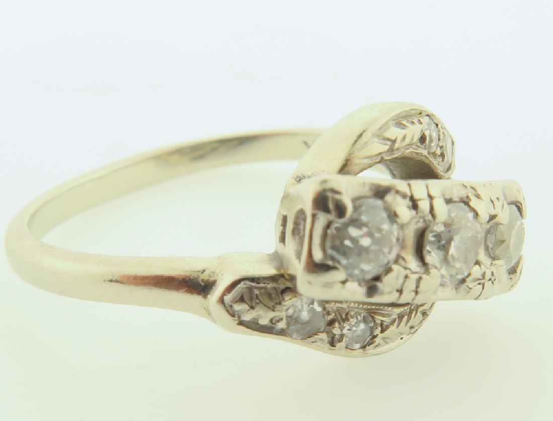 diamond ring 14kgold - 3