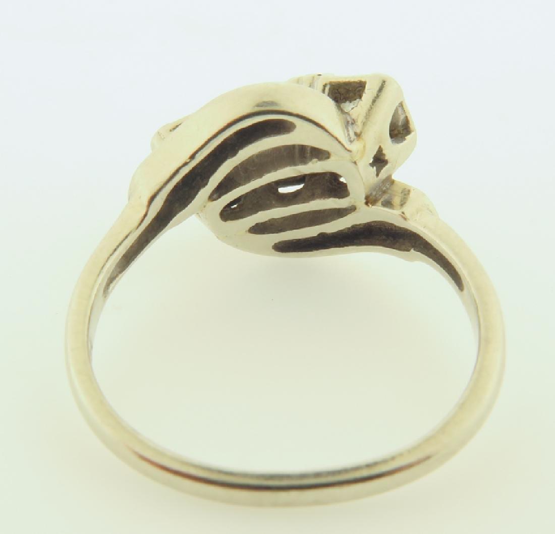 diamond ring 14kgold - 6