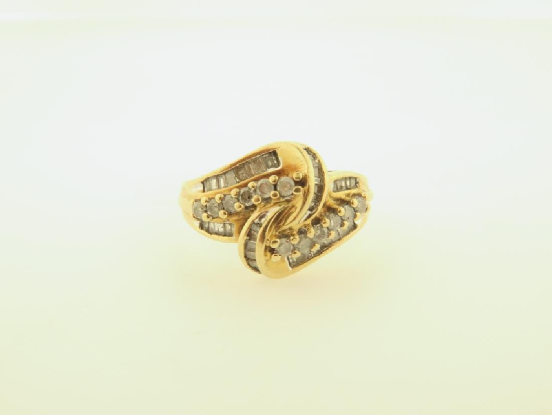 diamond ring 10k gold