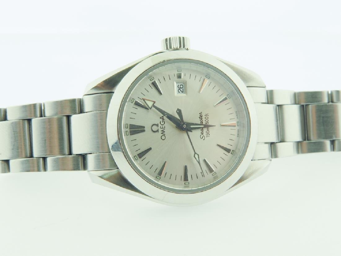 omega lady watch s/s quartz new