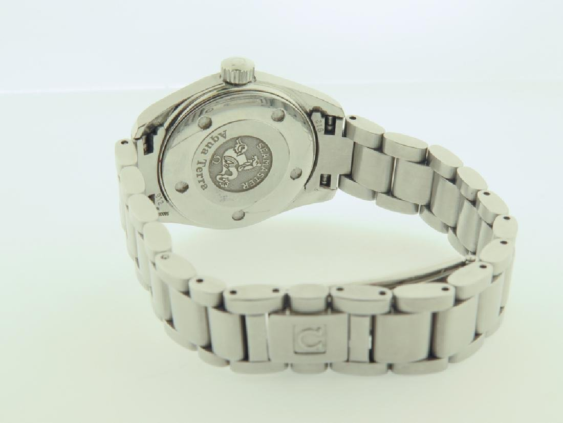 omega lady watch s/s quartz new - 3