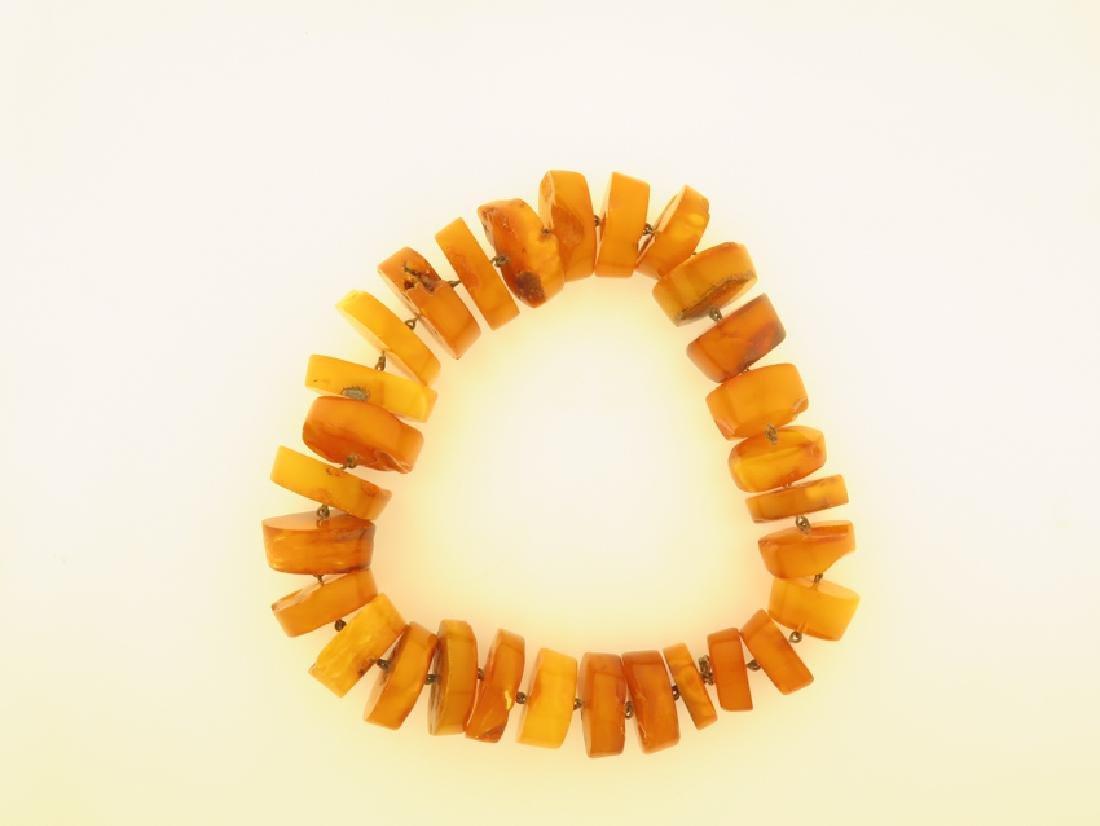 natural amber 91 gram