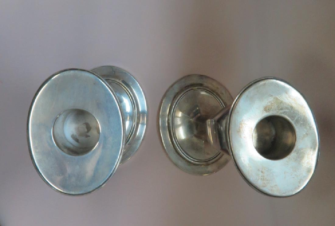 tiffany pair of candle stick sterling - 3