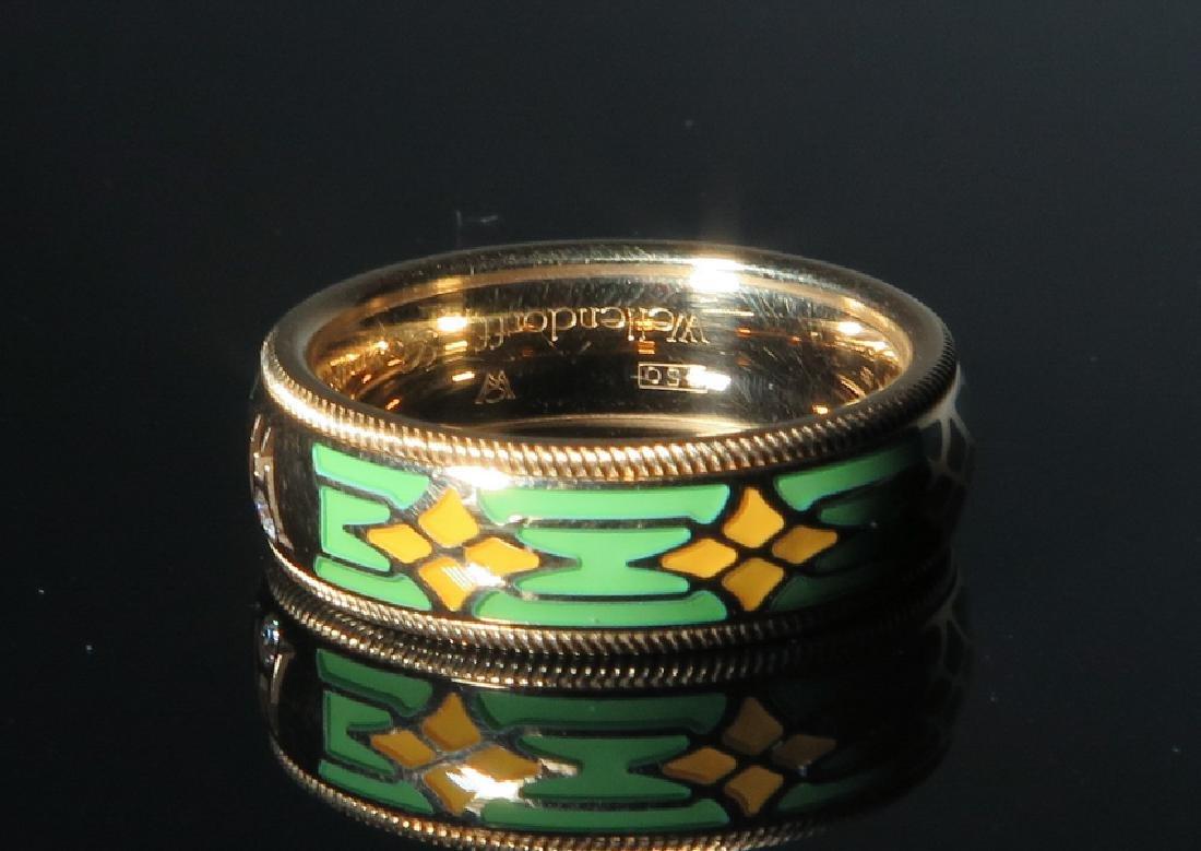 A Men 's 18k gold Emanuel Wellendorff Ring
