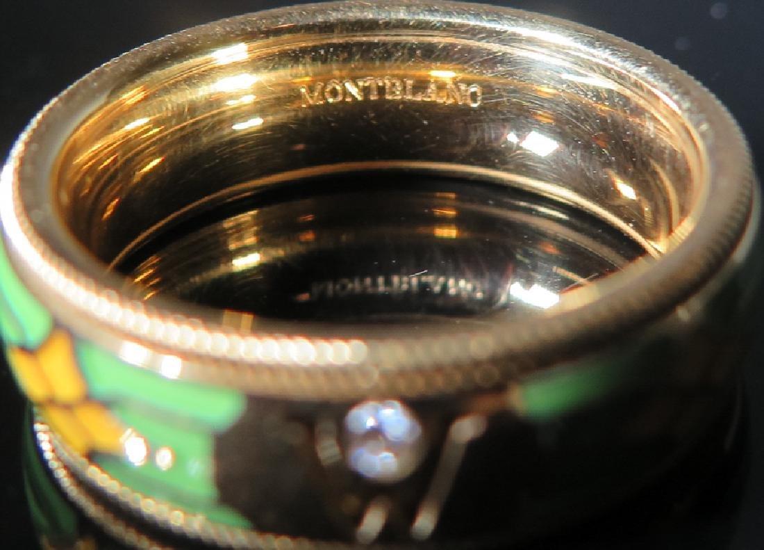 A Men 's 18k gold Emanuel Wellendorff Ring - 4