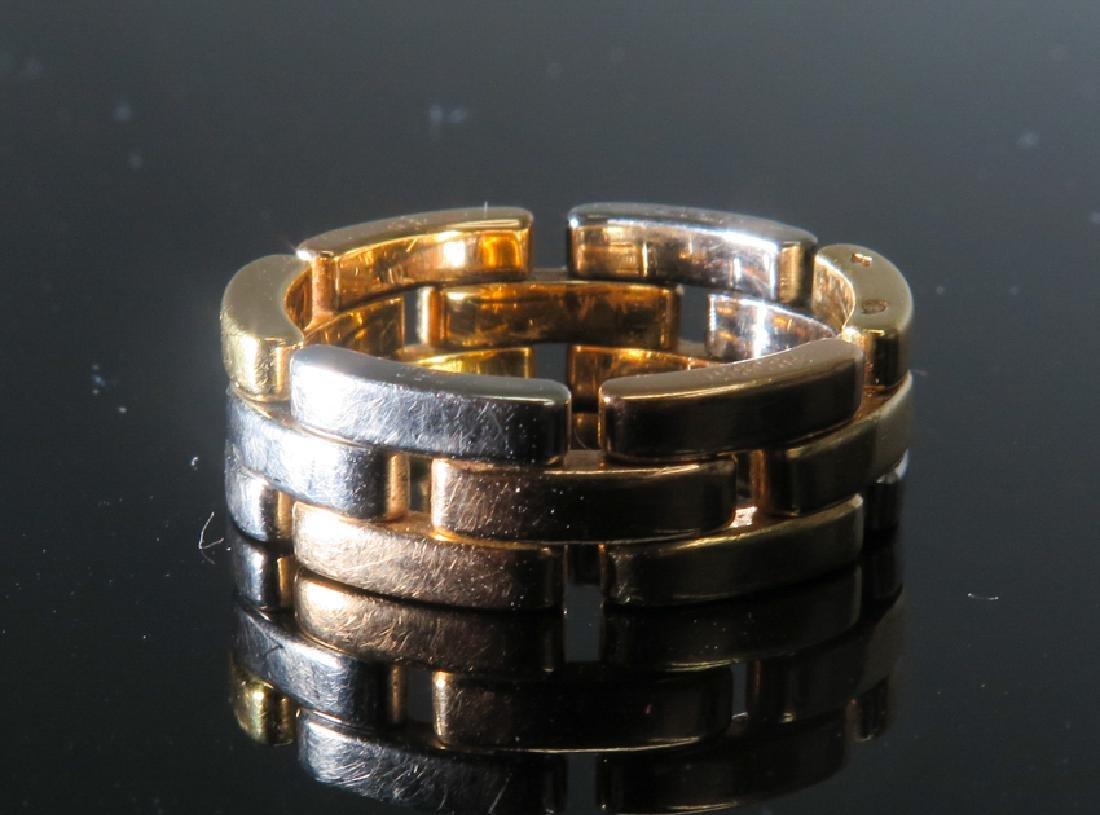 Cartier tri-color gold Men's ring