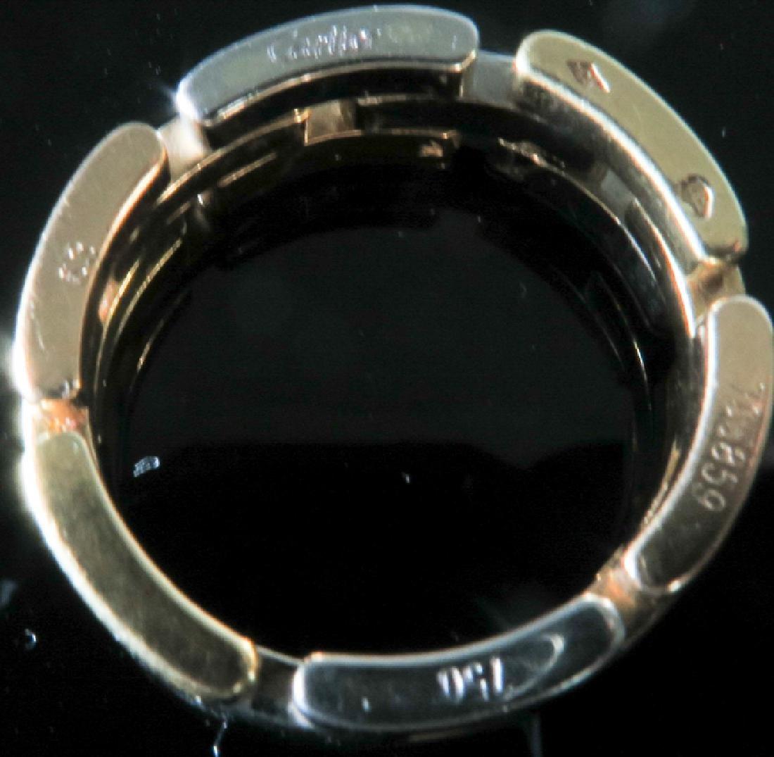 Cartier tri-color gold Men's ring - 4
