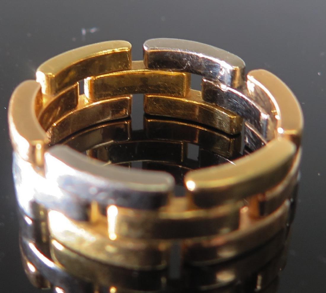 Cartier tri-color gold Men's ring - 5