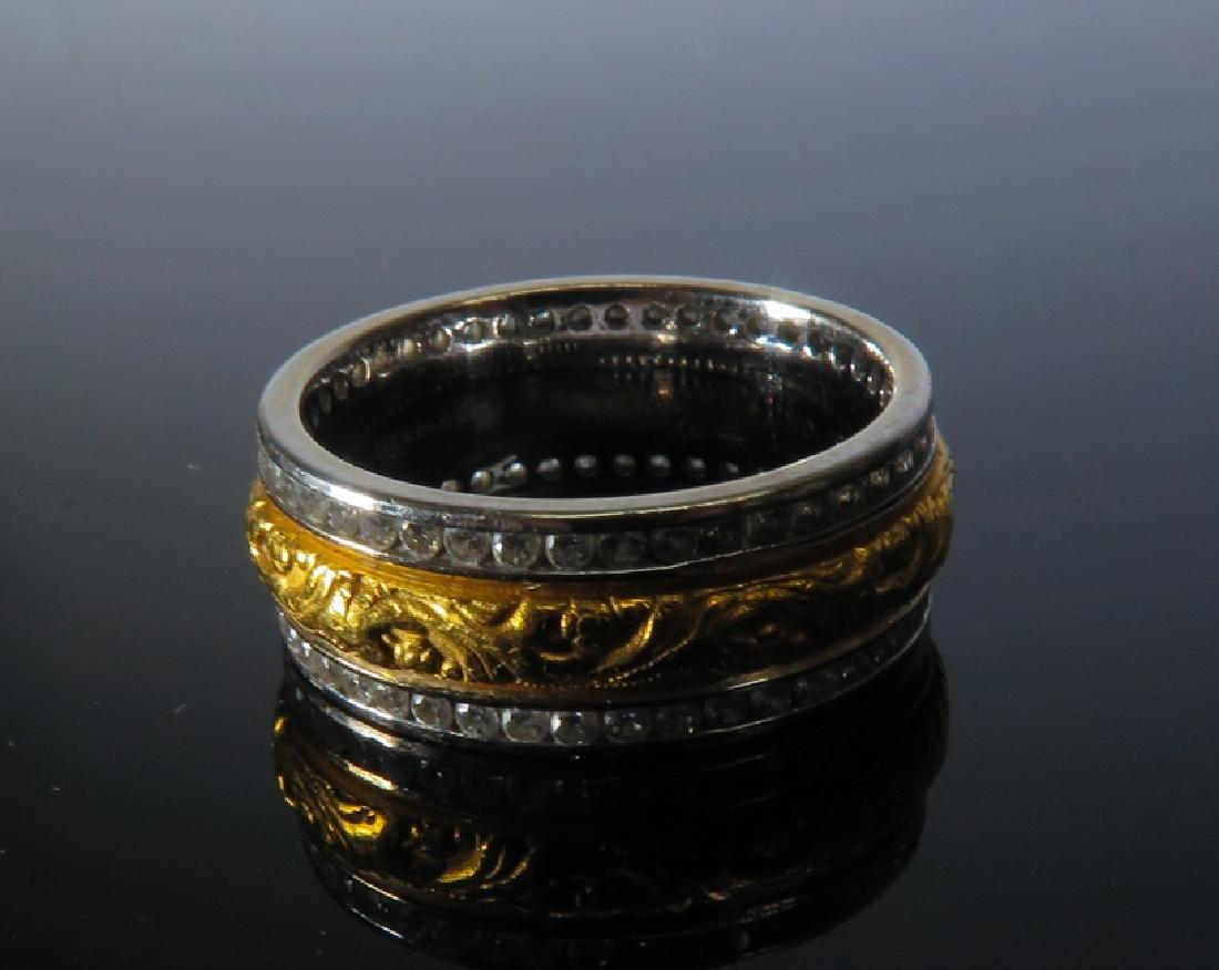 Piaget Men's 14K TWO-TONE WHITE GOLD Ring