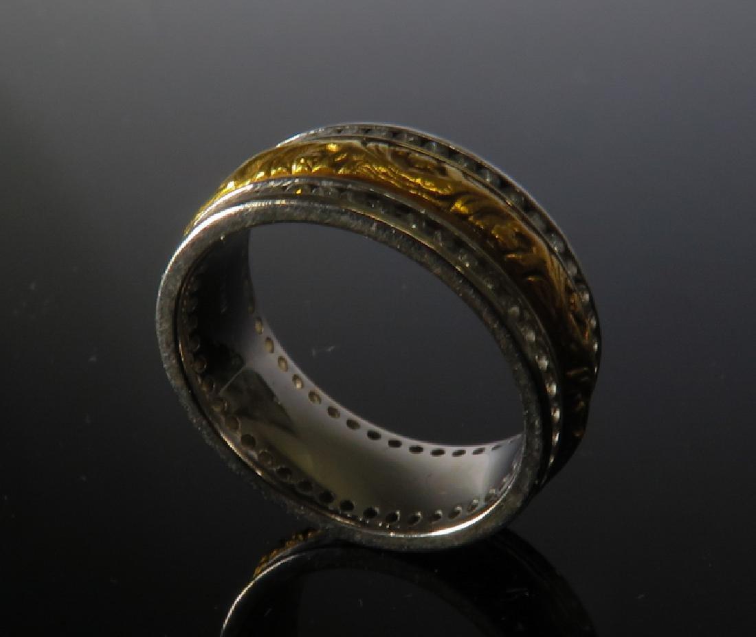 Piaget Men's 14K TWO-TONE WHITE GOLD Ring - 2