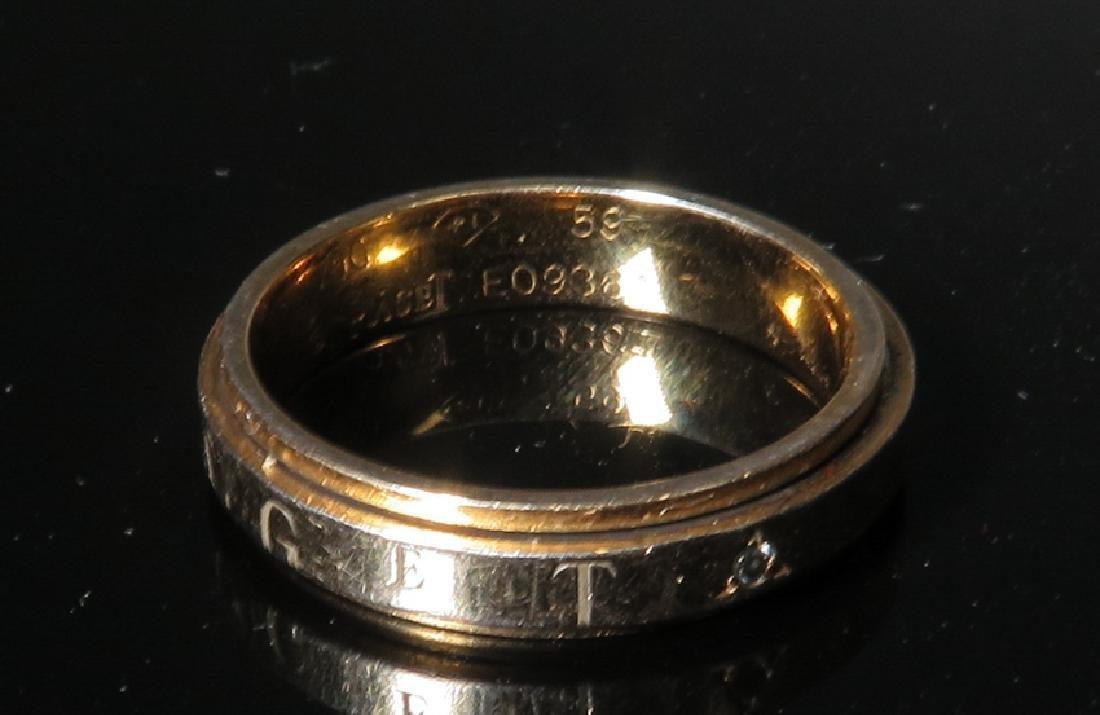 Men's CD peacock ring