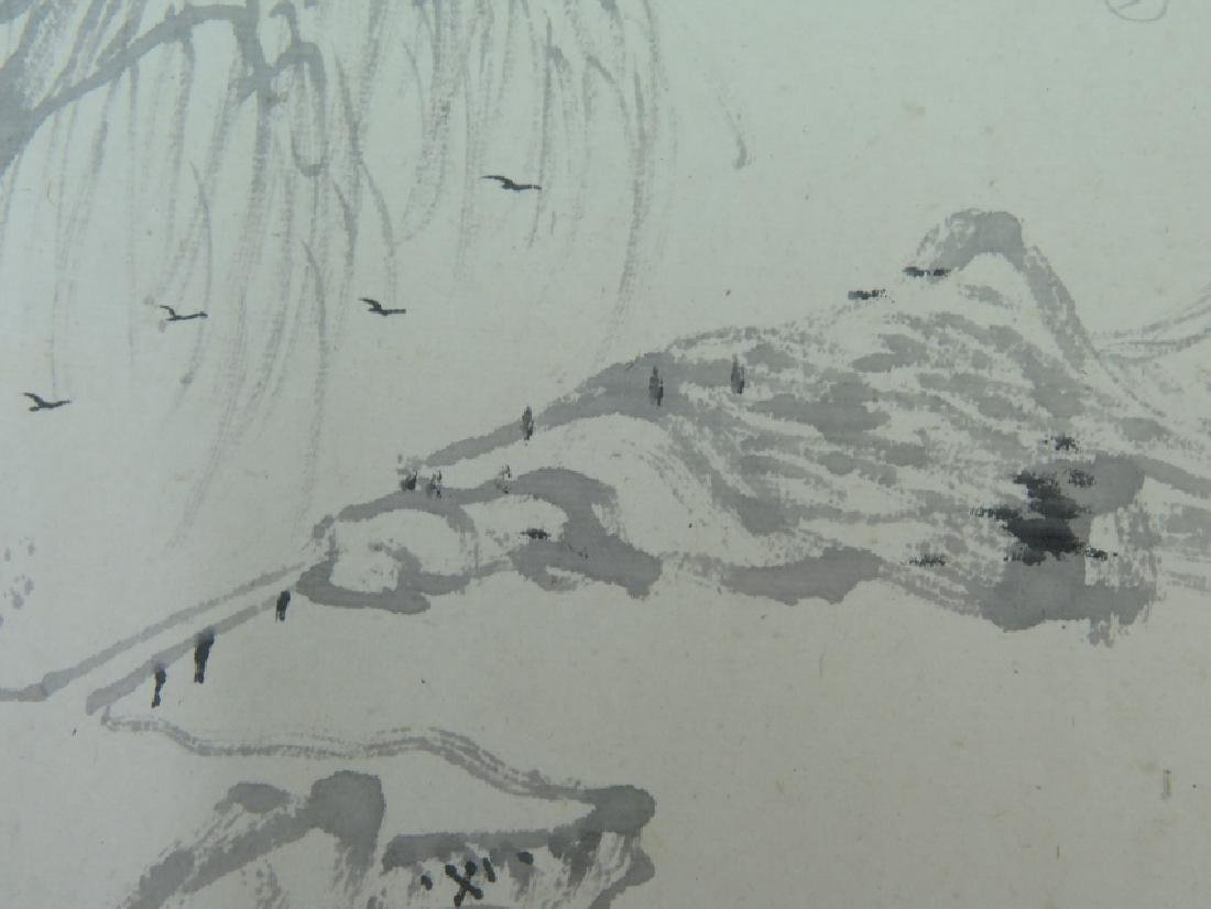 A ink on paper hand scroll - 5