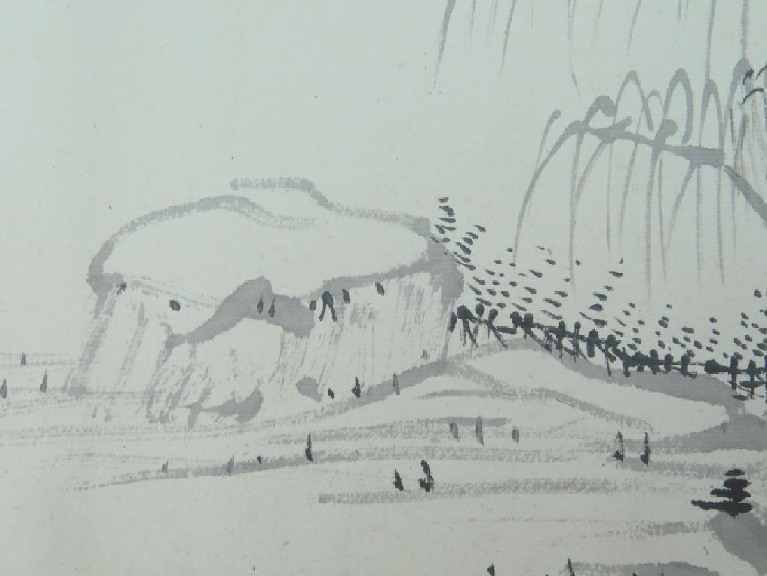 A ink on paper hand scroll - 6