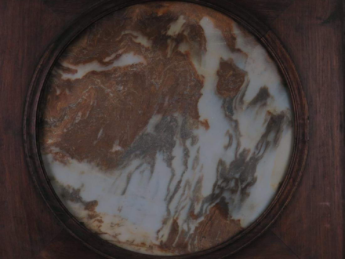 A marble 'lanscape'hanging screen - 5