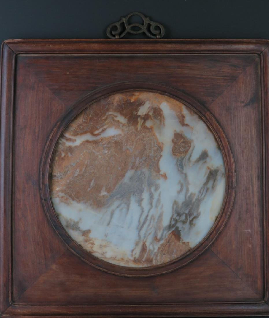 A marble 'lanscape'hanging screen - 7