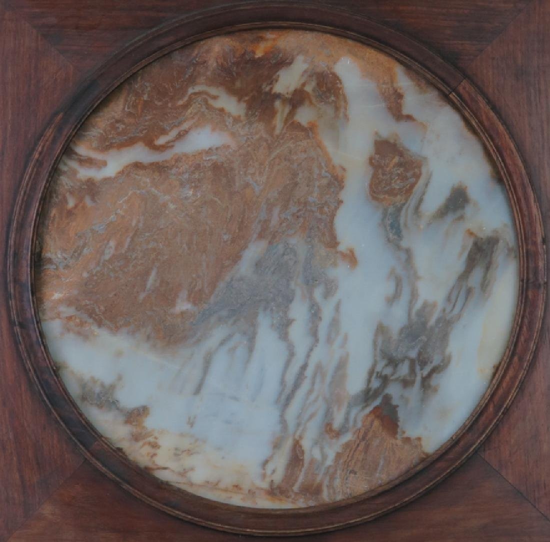 A marble 'lanscape'hanging screen - 8
