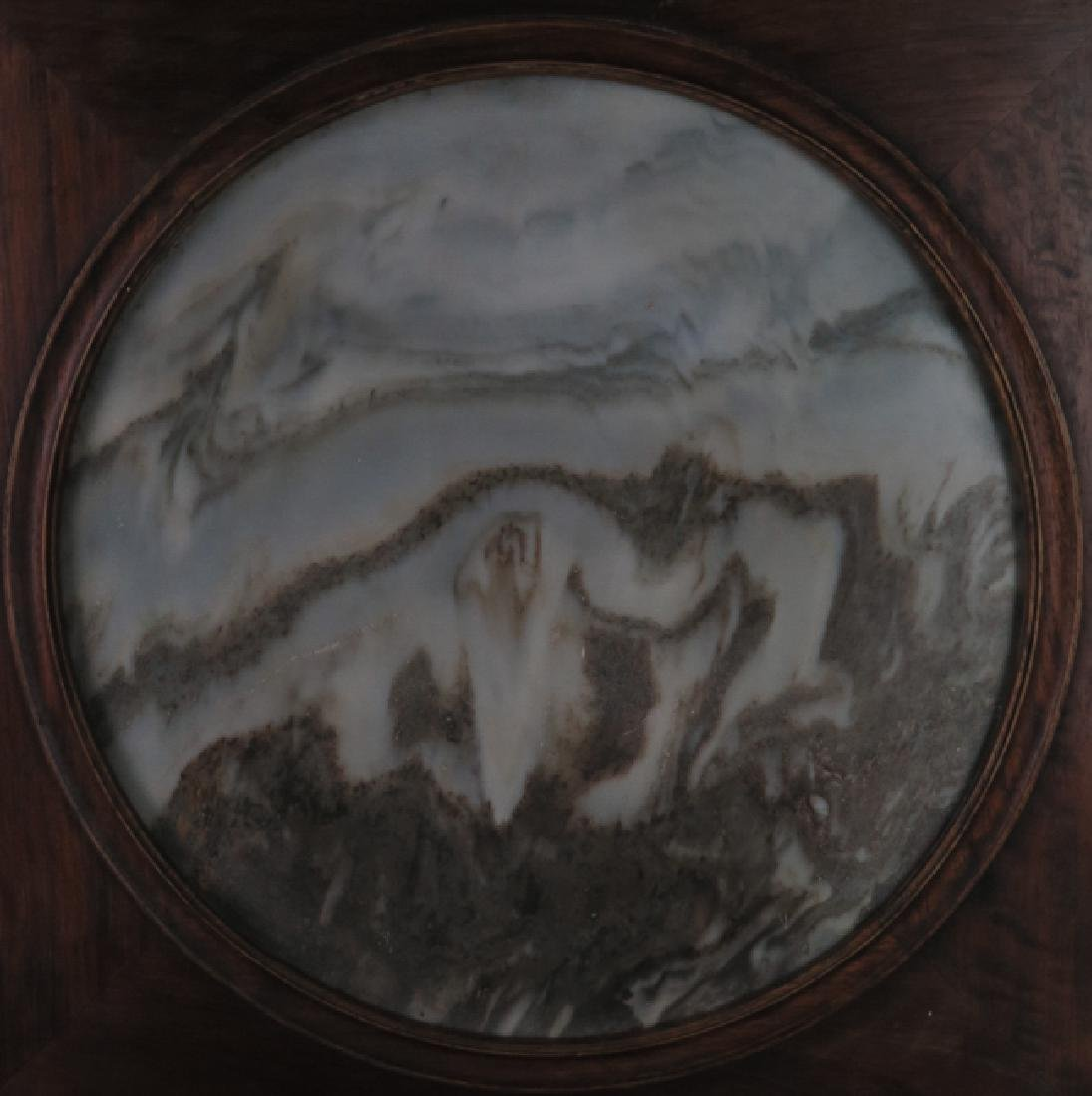 A marble 'lanscape'hanging screen - 4