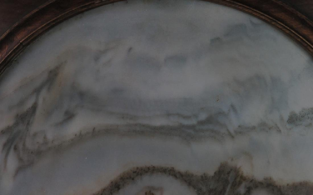 A marble 'lanscape'hanging screen - 6