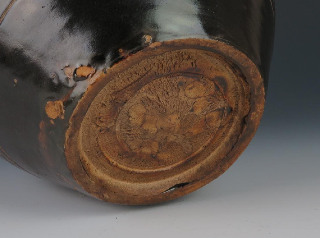 A  cizhouyao black glazed jar - 7