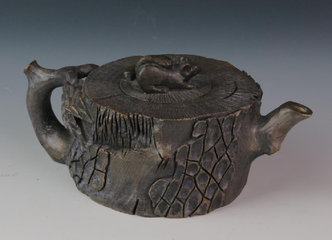 A stone tea pot - 4