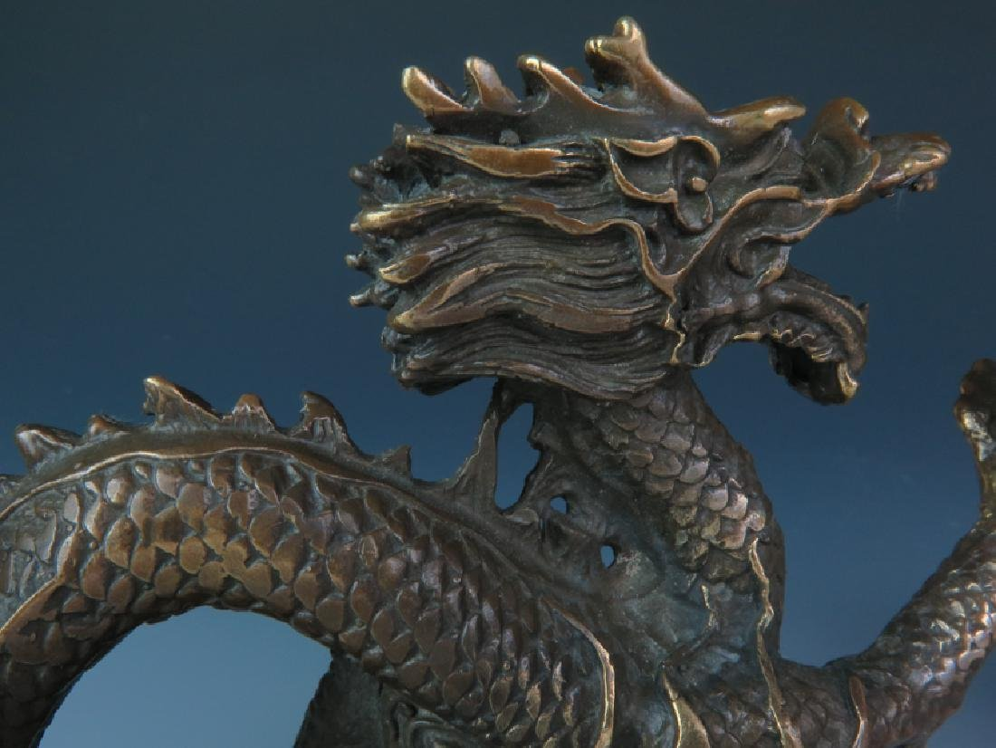 A pair of Bronze dragon - 5