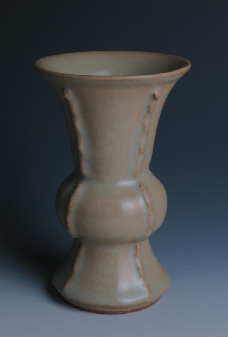 A Guan type vase - 3