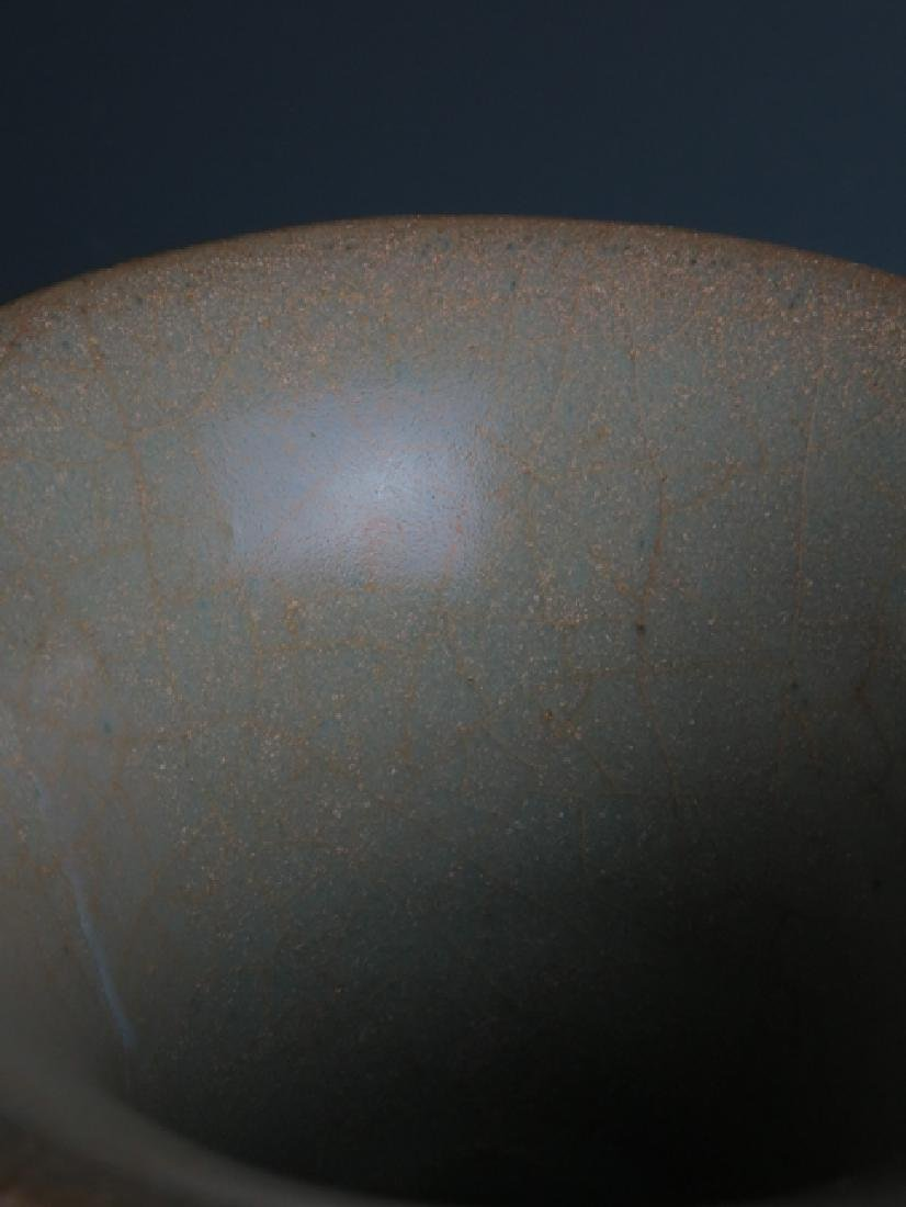 A Guan type vase - 5