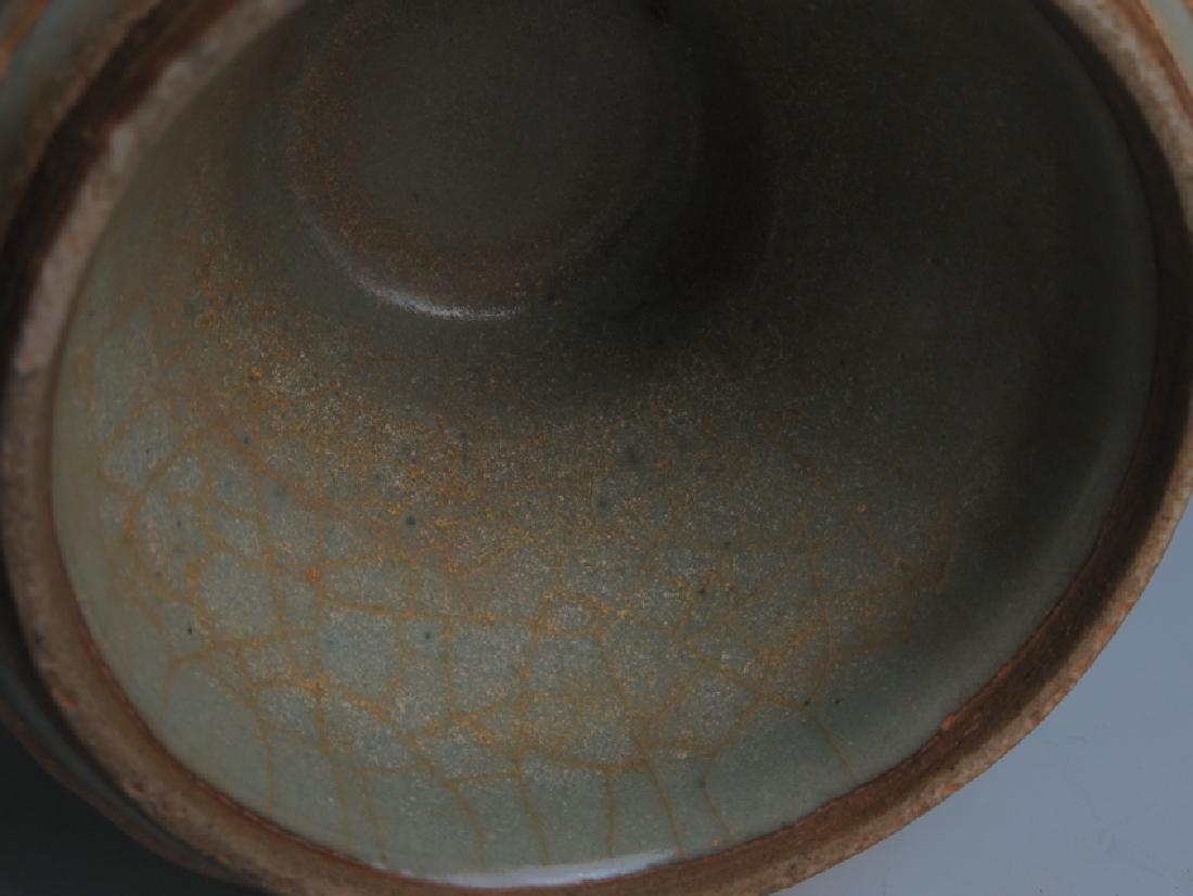 A Guan type vase - 8