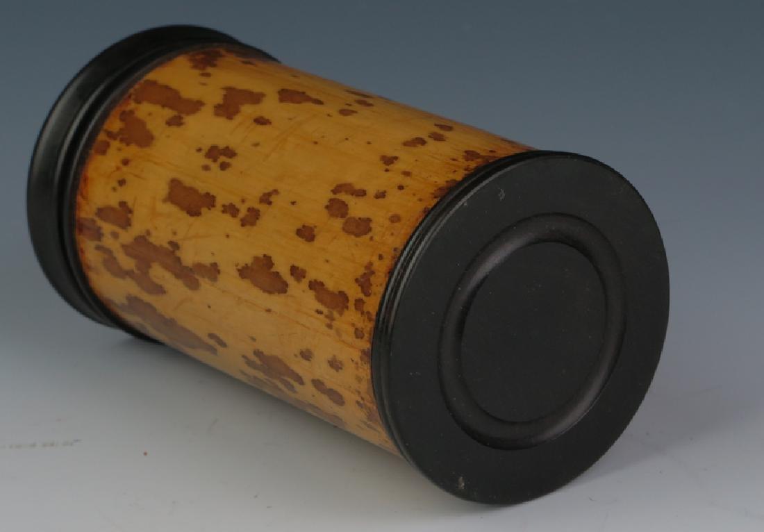 Bamboo tea can - 3