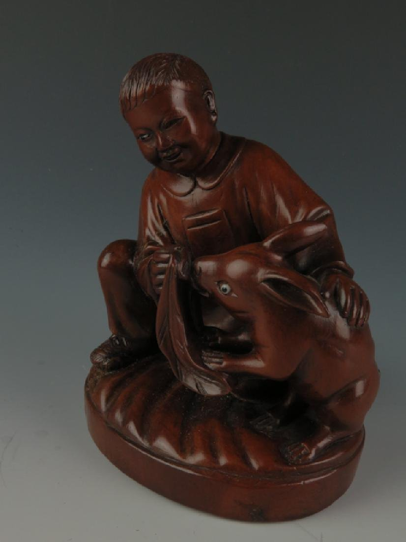 A box wood carving - 2