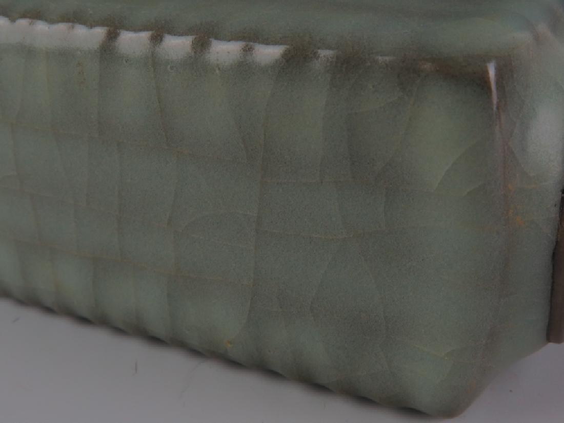 A long Quran cong vase - 5