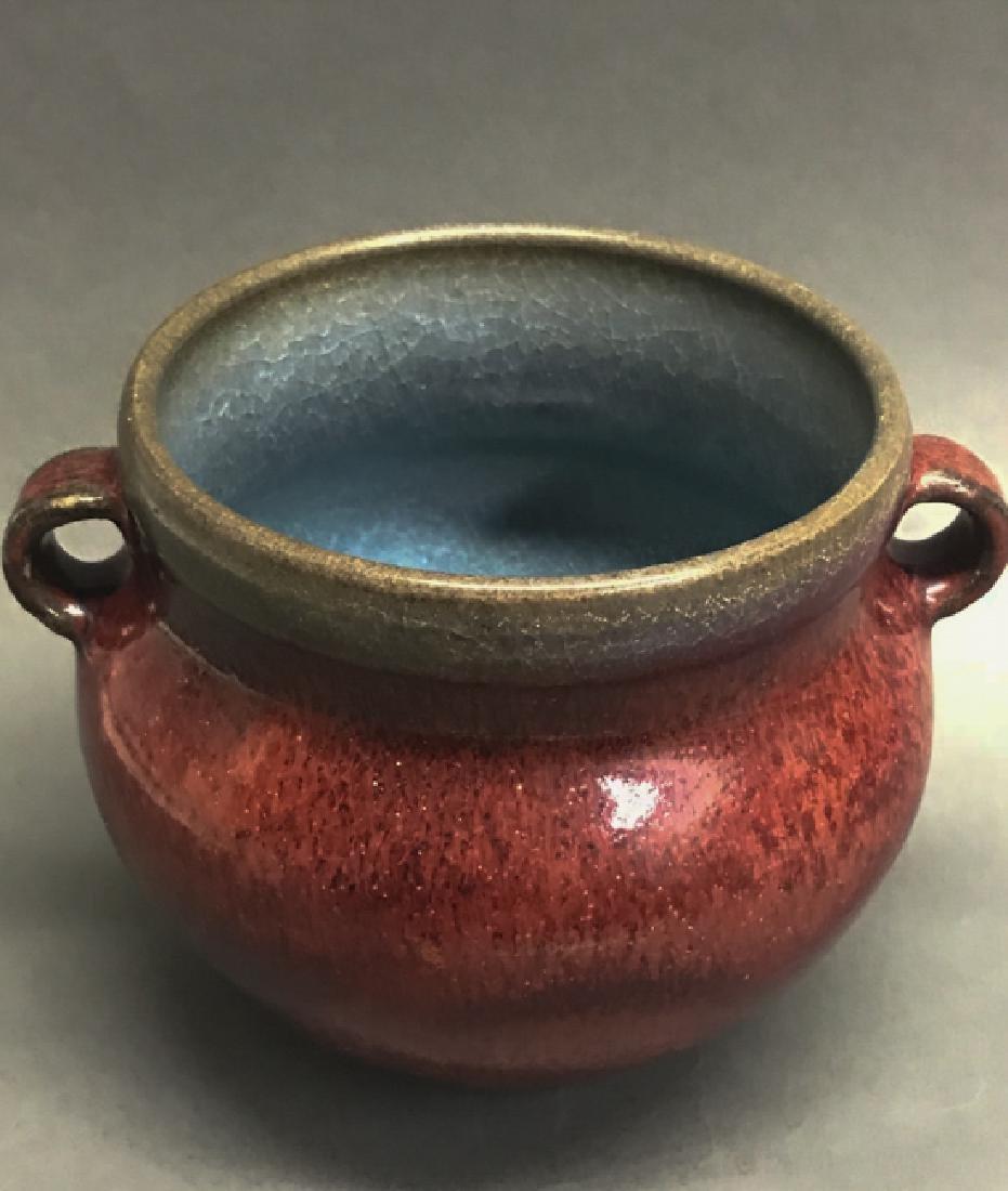 A porcelain censer