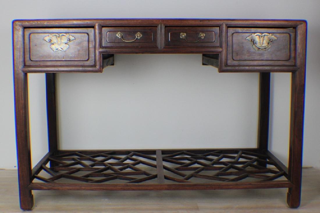 very precious rose wood table