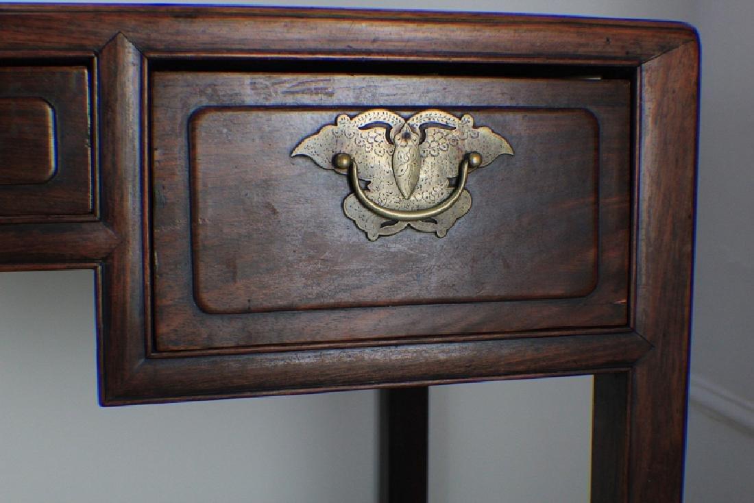 very precious rose wood table - 3