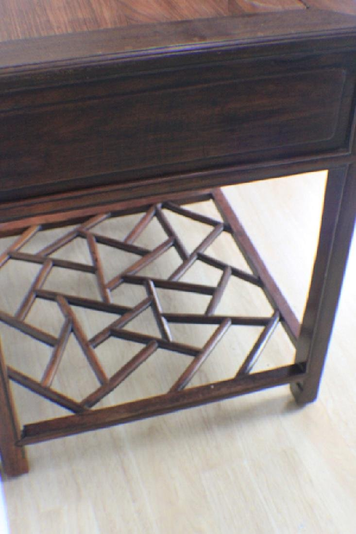 very precious rose wood table - 5