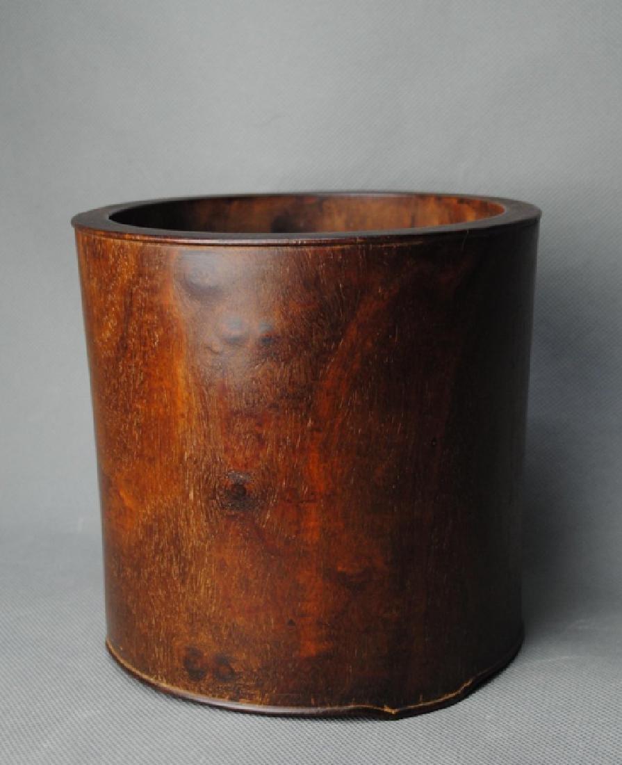 a HuangHuaLi brush pot - 2