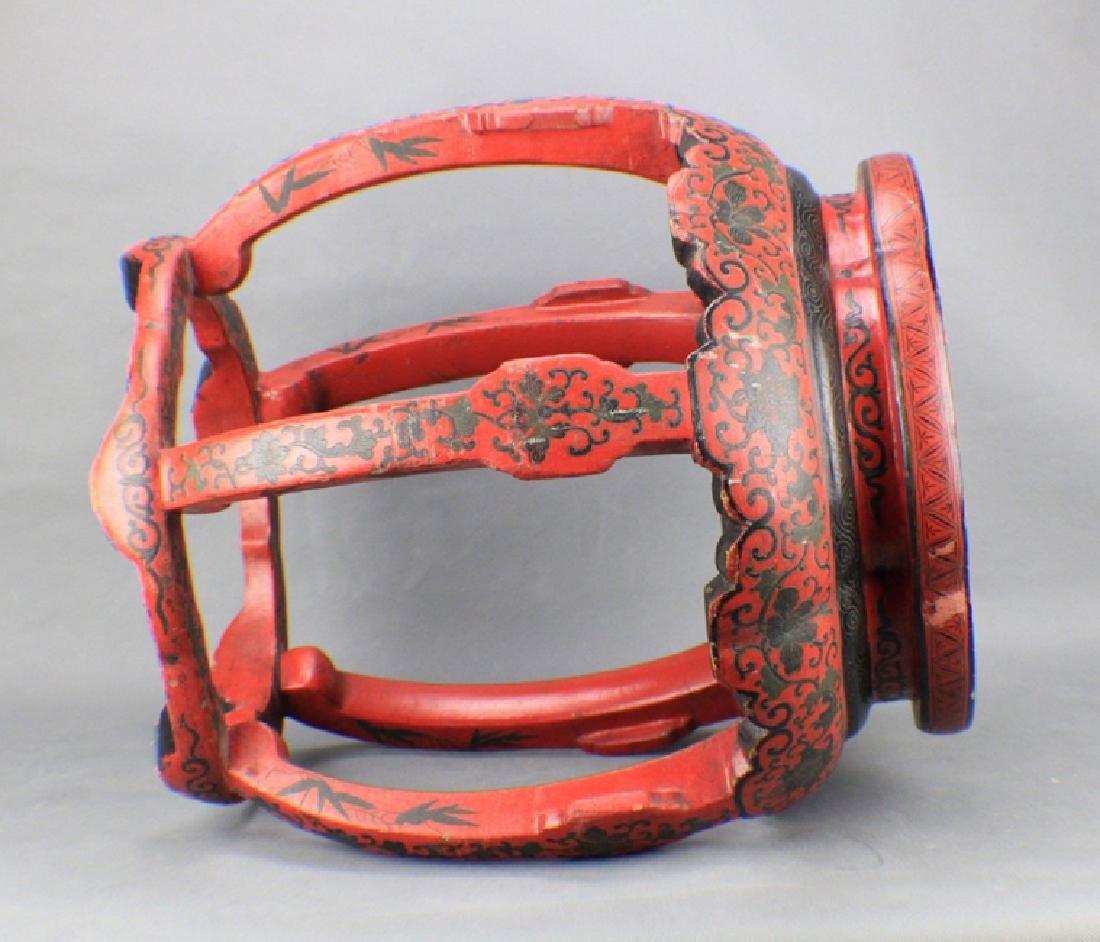 Qing Dynasti stool - 3