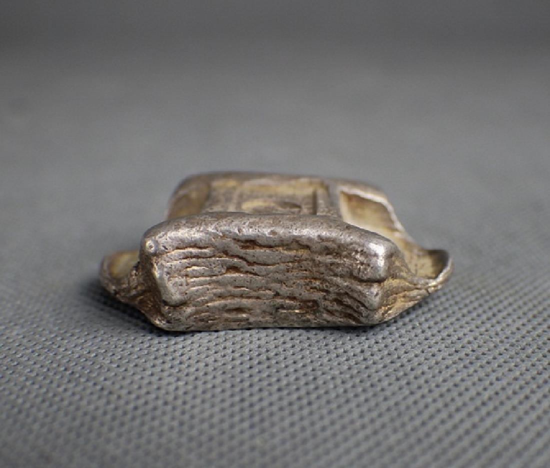 Qing Dynasty silver ingots - 3
