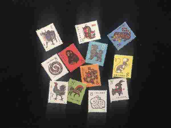 Group of Chinese Collection Stamps