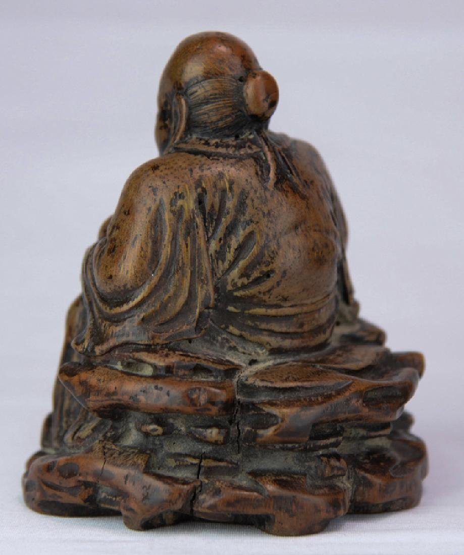 A wood figure of solau - 3