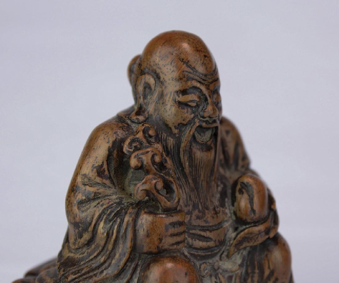 A wood figure of solau - 6