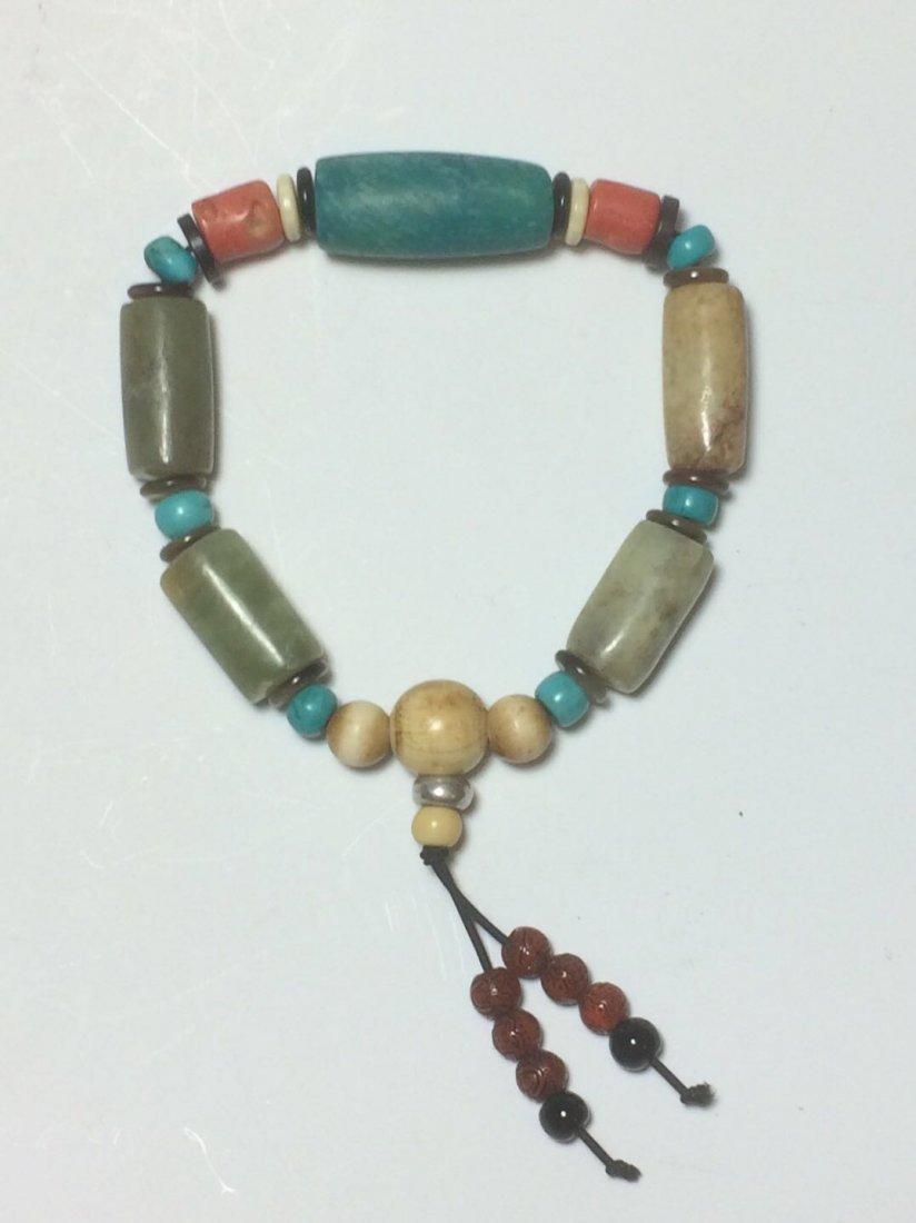 A jade bracelet - 3